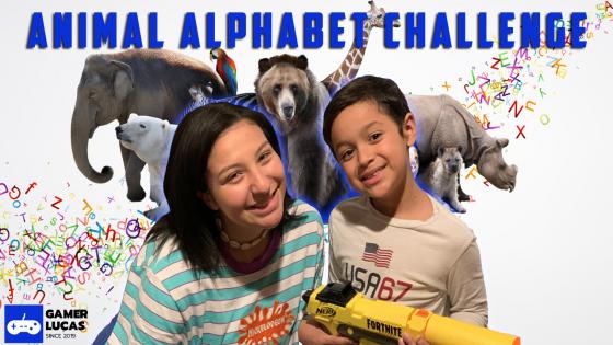 Animal Themed Alphabet Challenge