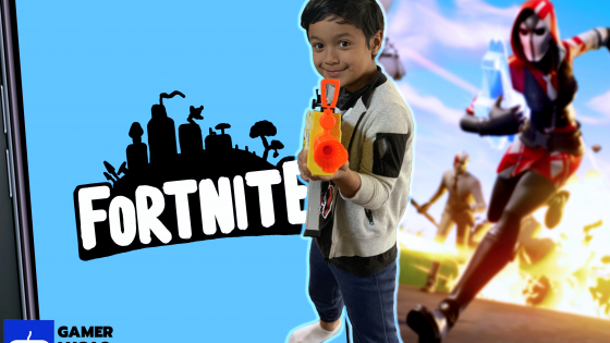 Gamer Lucas Fortnite