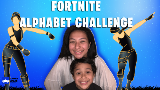 Fortnite Alphabet Challenge