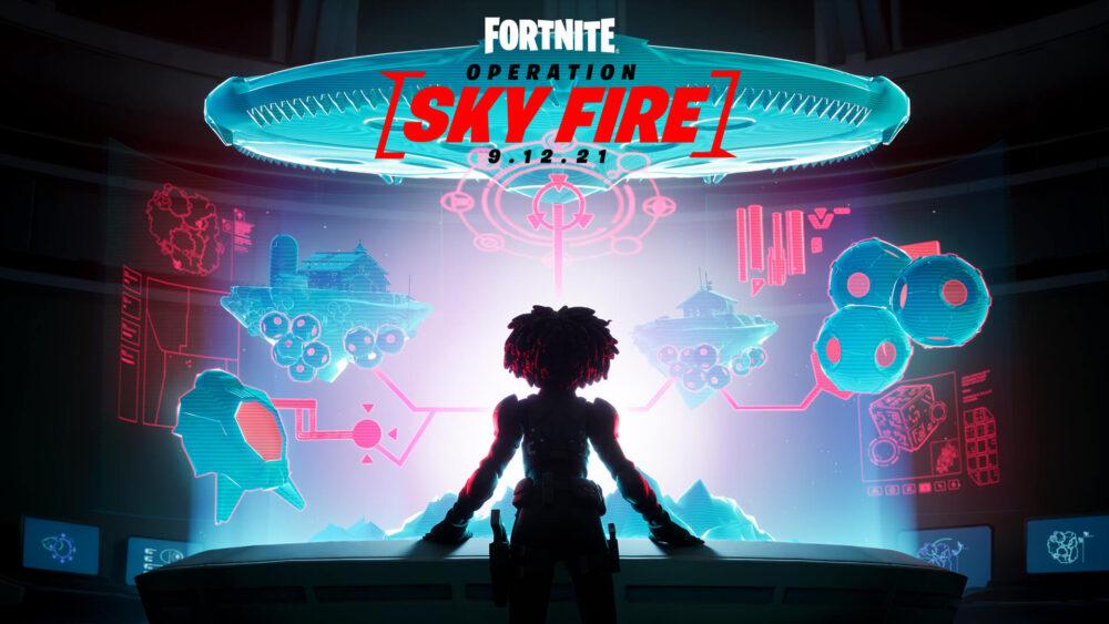 Fortnite Season 8 Sky Fire Live Event!